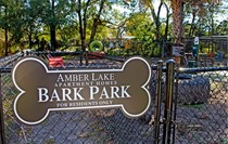 Your four-legged friends have the chance to stretch their legs at our bark park.