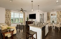 Open Concept Floor Plans with Island Kitchens