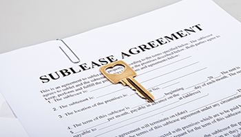 As the resident whose name is on the original lease, you are responsible for the actions of the person you're subletting your apartment to.